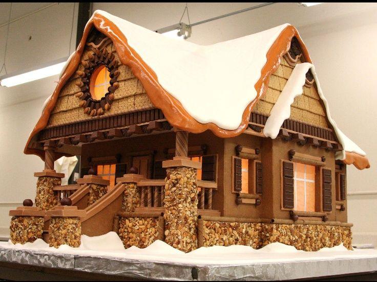 The Canada Toronto Gingerbread Christmas Houses Bakery USA