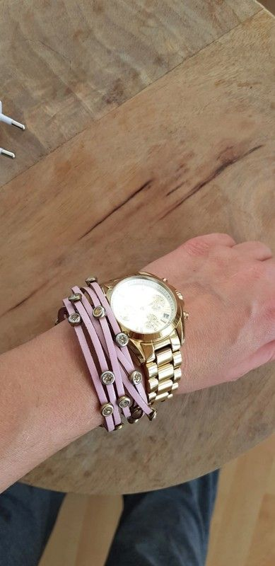 #rosaarmband #strass #armkette #accessoires #schmuck #lederarmband #pink #sparkling #bloggerstyle #instafashion