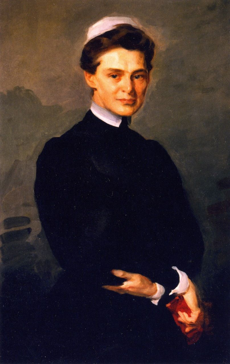 Cecilia Beaux (1855-1942) - M. Adelaide Nutting - 1906 - Johns Hopkins University School of Medicine  (United States)