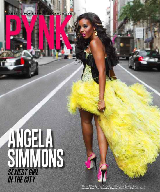 Angela Simmons PYNK Magazine Cover