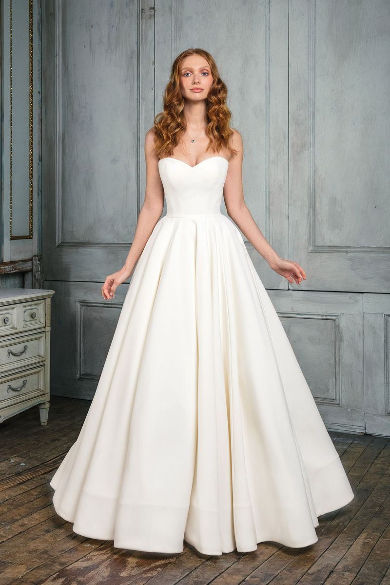 Style 99003 Crepe Sweetheart Ball Gown Wedding dresses