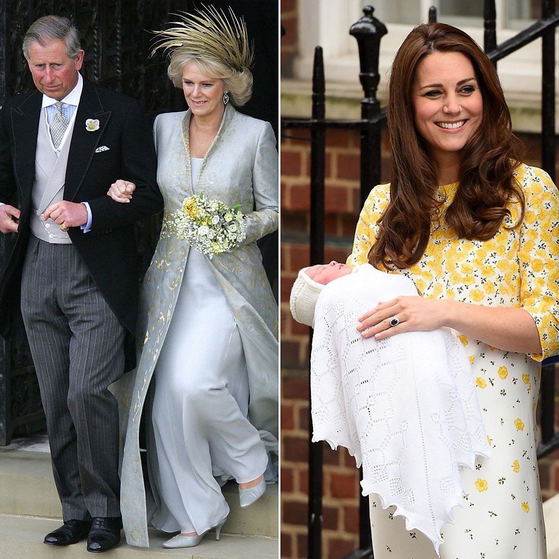 The Royal Family Wedding dresses, Civil ceremony, Dresses