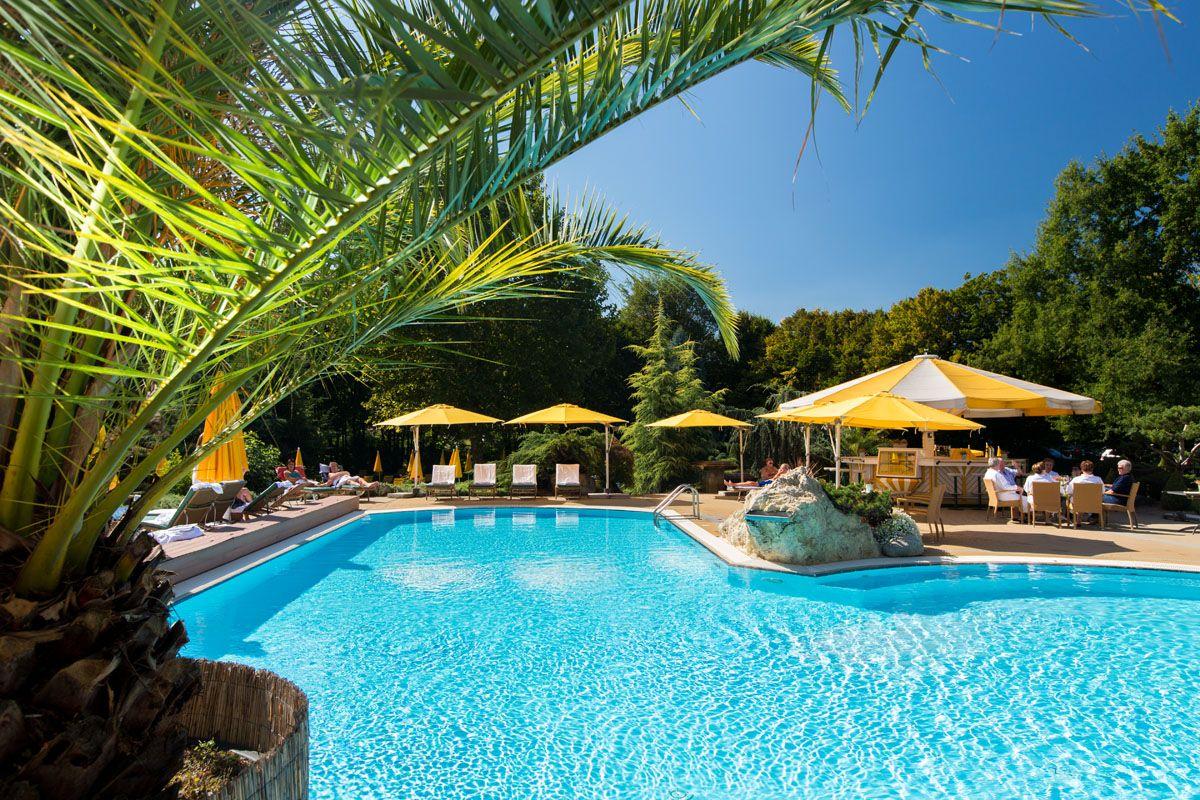 Den Sommer so richtig genießen im Romantik Hotel im Park.