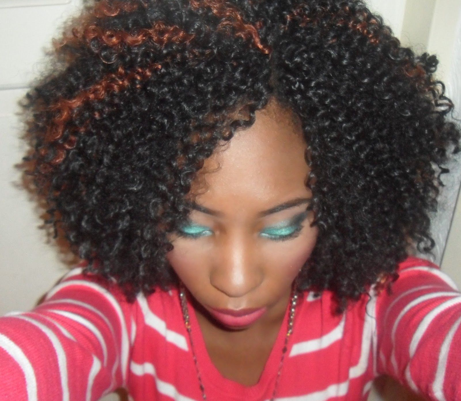 Crochet Braids With Kanekalon Hair Use A Home Made One These Were My ...