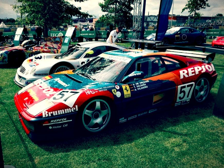 From the listing for this Ferrari F40 Race Car for sale: This car ...