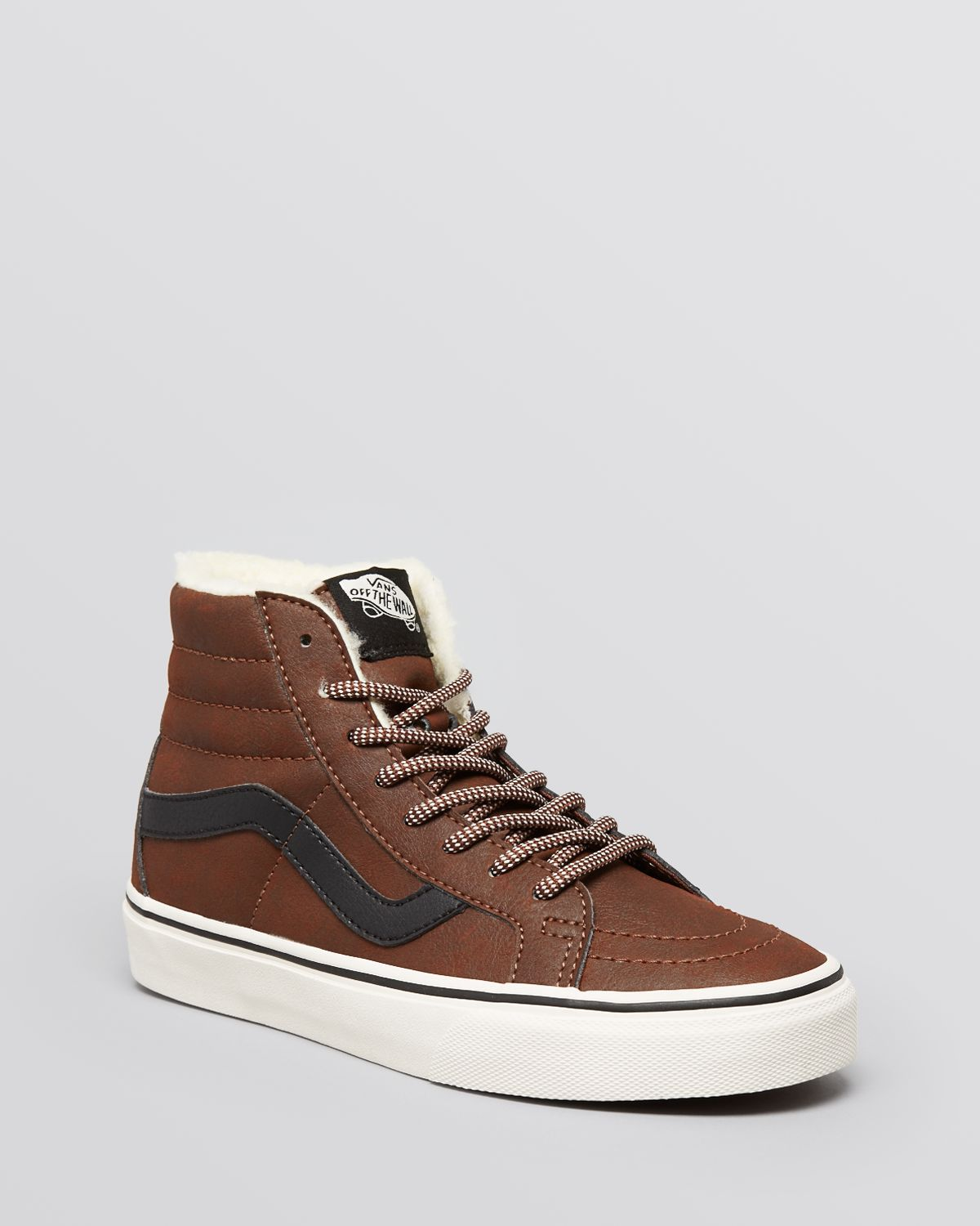 21dee622931d Lyst - Vans Lace Up High Top Sneakers ...