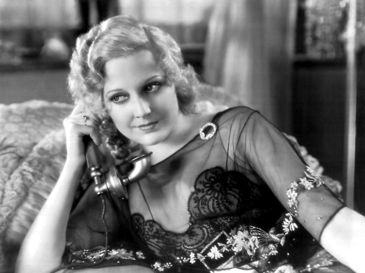 """womenofthe30s70s""""Thelma Todd in The Maltese Falcon, 1931"""