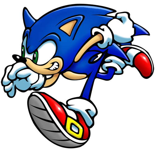 The Hotdog Laserhouse Sonic Hedgehog Art Sonic The Hedgehog
