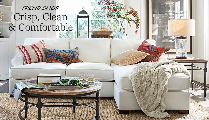 Trend Shop Red Neutral Shop Pottery Barn Blue Curtains