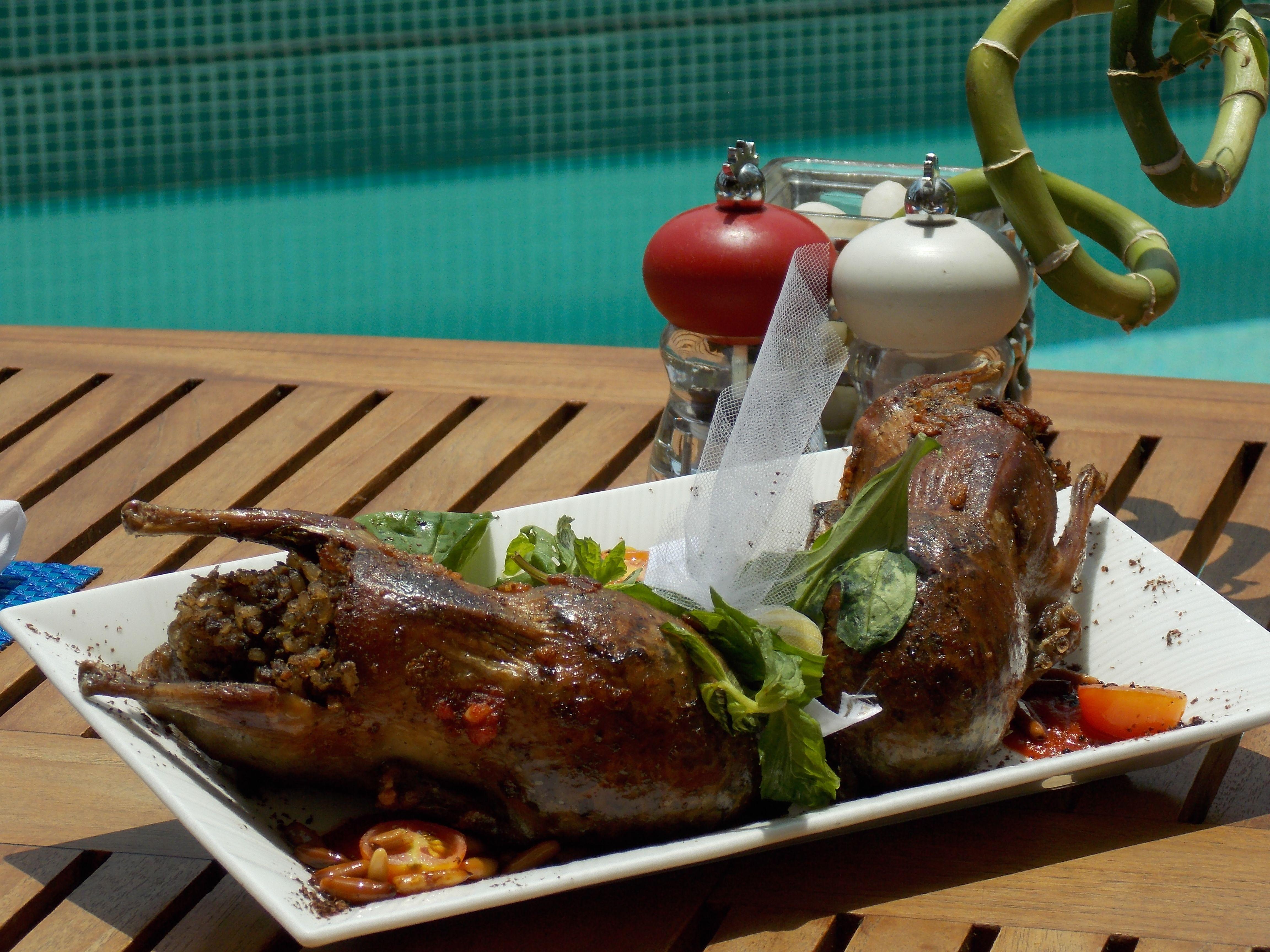 Ramadan Iftar Pool Pigeons Iftar Food Ramadan