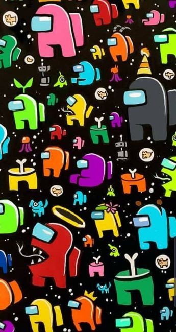 Among us colors wallpaper by Ko3shi - 4936 - Free on ZEDGE™