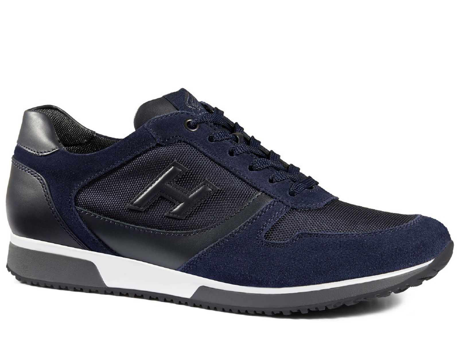 Hogan sneakers H198 in suede with