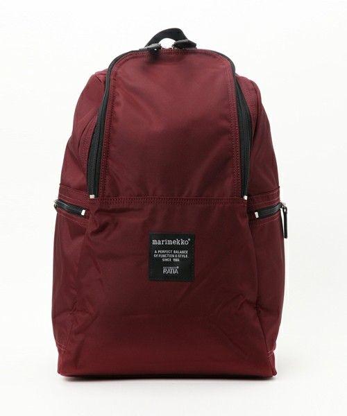 679581da1bfb Roadie / METRO(バックパック/リュック)|marimekko(マリメッコ)のファッション