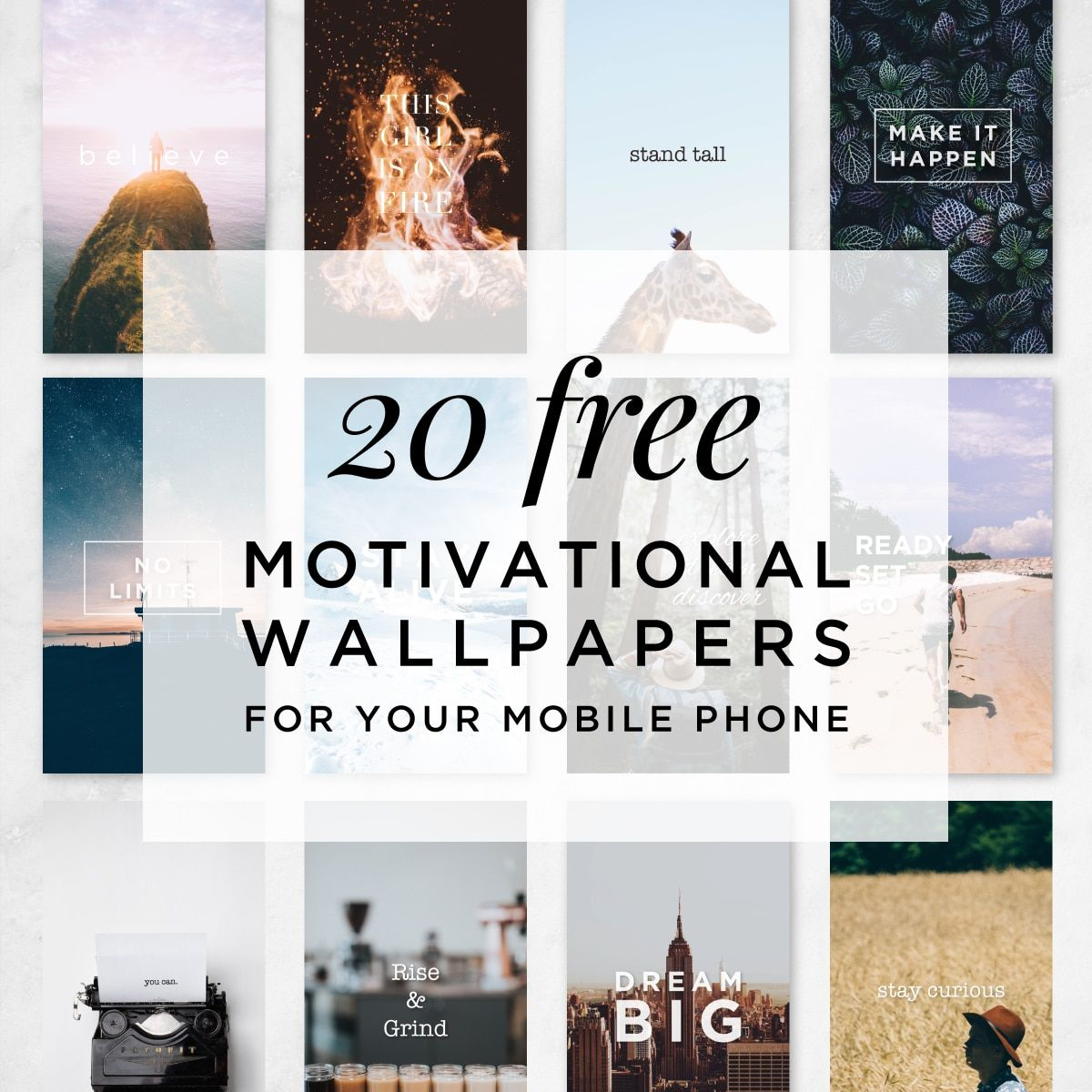 20 Motivational Wallpapers for Your Phone Motivational