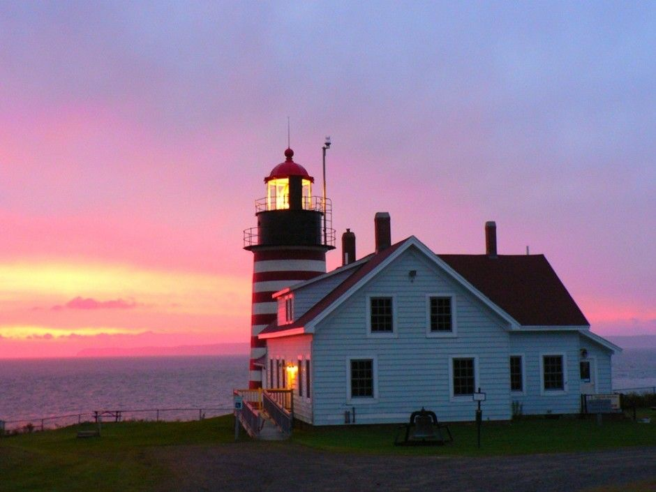 Quoddy Head, ME - The easternmost point of the US. The first place to see the sun rise and the closest place to Europe from the U.S :)