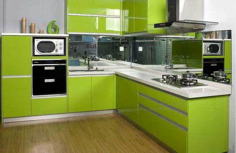 Cucina verde moderna 02 | Cucine | Pinterest