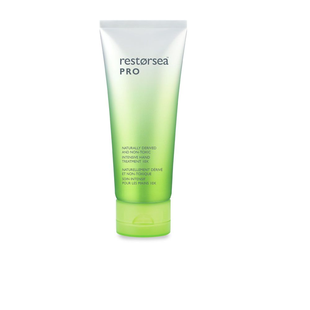 Restorsea Pro Intensive Hand Treatment 10X – This cream will strengthen and condition the skin, as well as exfoliate any dead skin cells to turn back the hands of time on your hands.