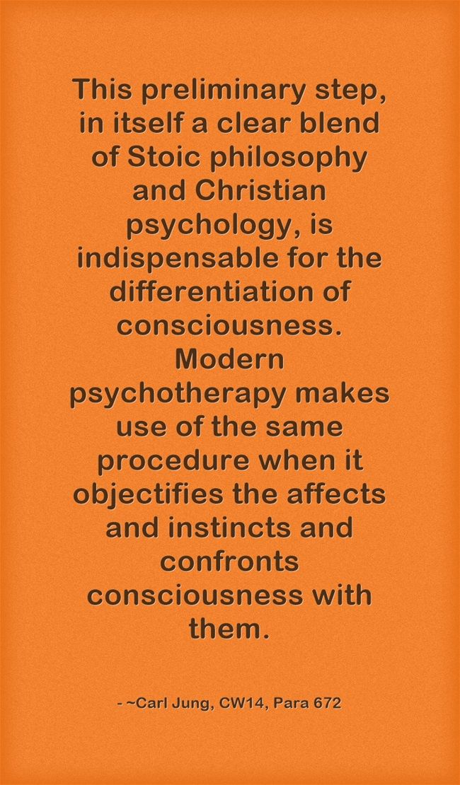 This Preliminary Step In Itself A Clear Blend Of Stoic Philosophy And Christian Psychology Is Indispensable For The Differentia Quotes Stoic Meaningful Words