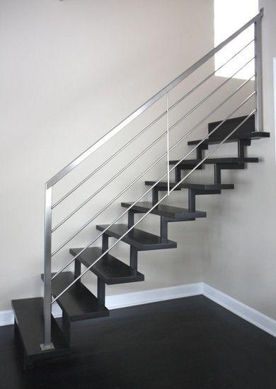 Pin De Alberto En Metales Pinterest Pasamanos Barandales Y - Barandas-escaleras-modernas