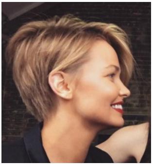 Lara Bingle Latest New Hairstyle 2017 Pictures | Wavy bob hair, Long ...