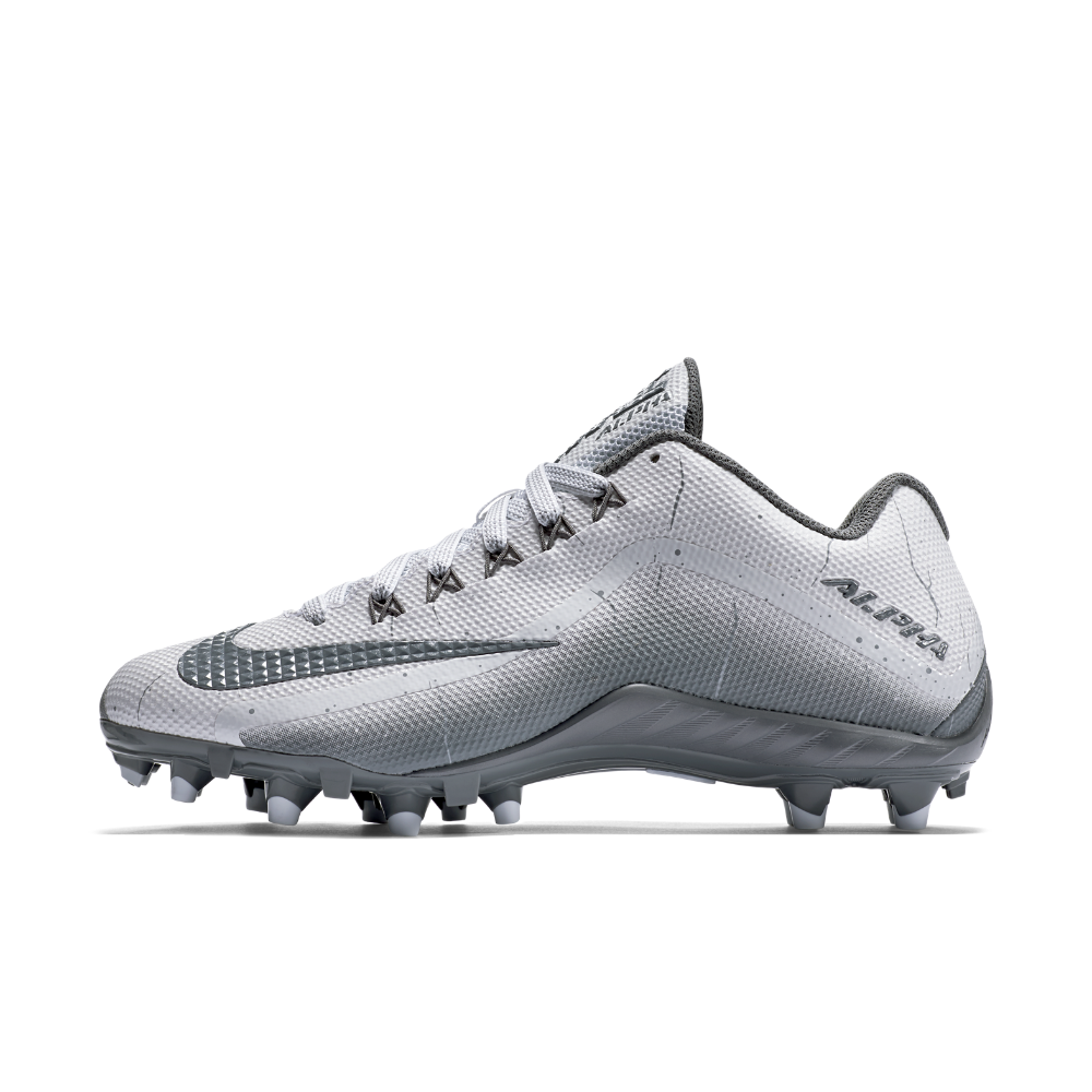 57b79f91c Nike Alpha Pro 2 TD Men s Football Cleat Size 8 (White) - Clearance Sale