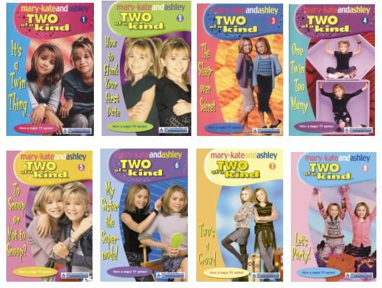 Image result for mary kate and ashley book series