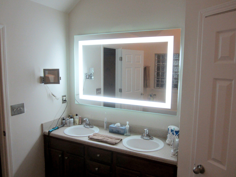 Front Lighted Led Bathroom Vanity Mirror 60 Diy Vanity Mirror Bathroom Vanity Mirror Bathroom Mirror