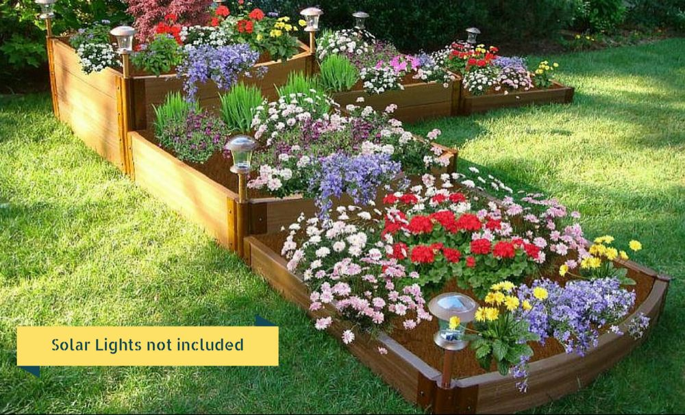 FoodGrade Composite Raised Garden Beds (With images