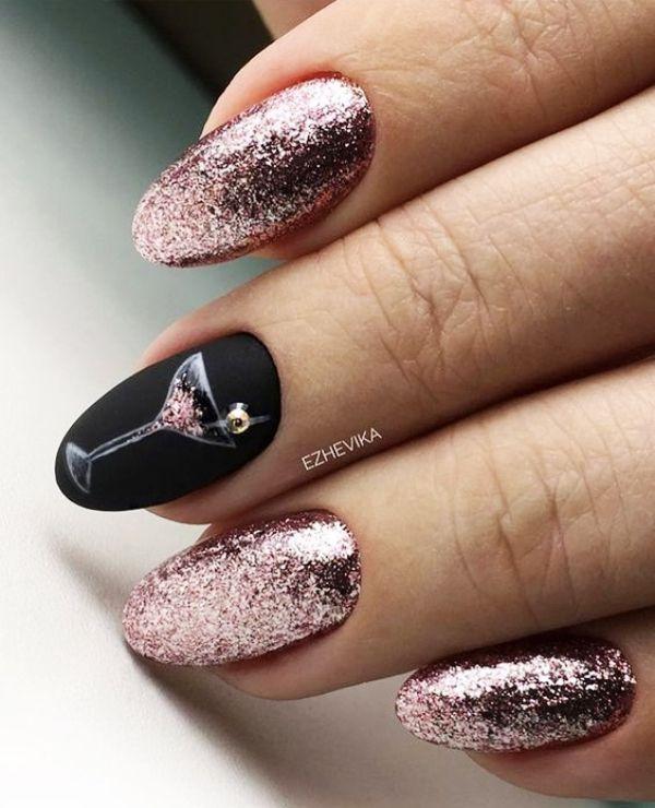 49+ New years nail designs ideas ideas