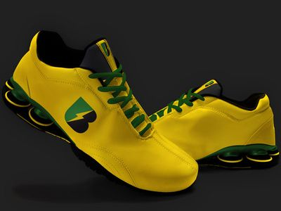 usain bolt running shoes usain bolt and running shoes