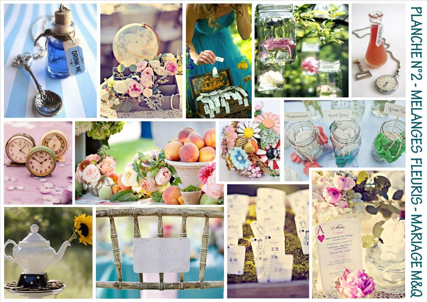 alice au pays des merveilles | mariage disney decoration