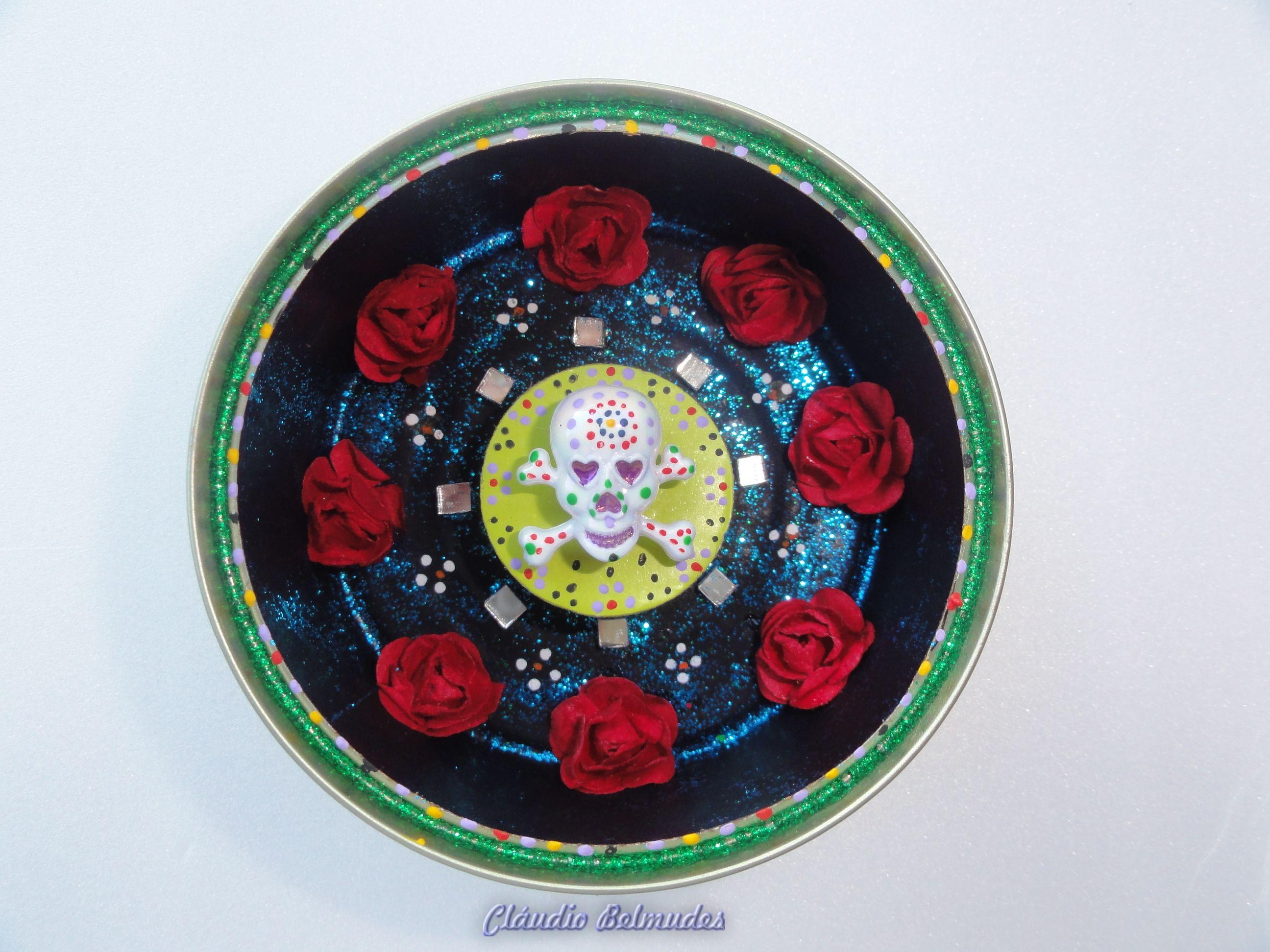 Dia de los muertos (México) - latinha de atum