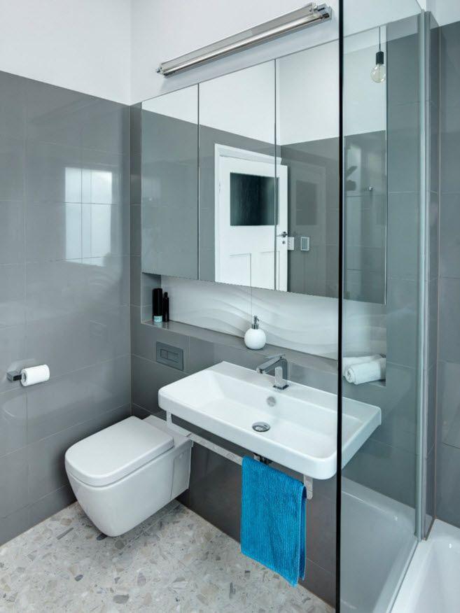 ⭐ Baños Pequeños ⚡ +51 Tips Para Ganar Espacio YA Small bathroom