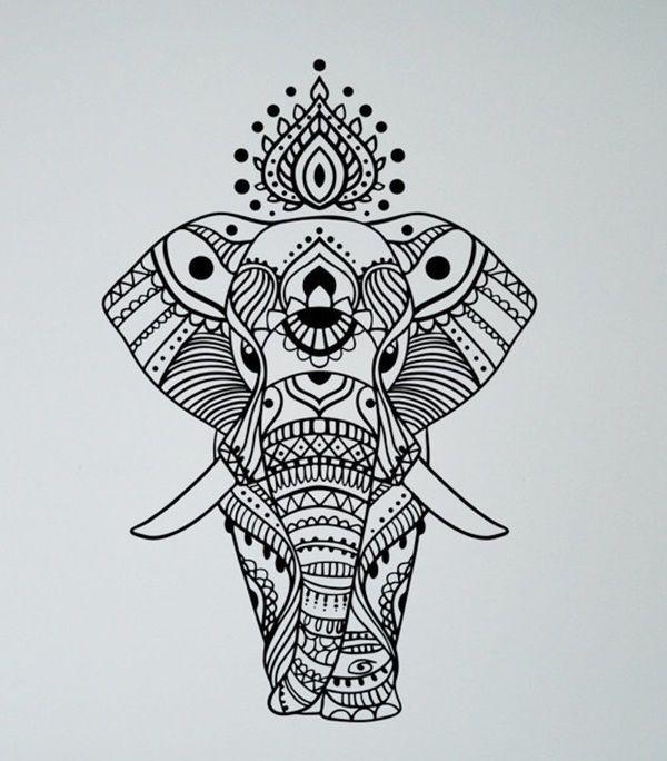 40 Simple Mandala Art Pattern And Designs #mandala