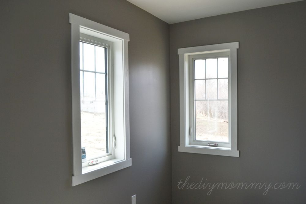 Charming Installing Window Trim