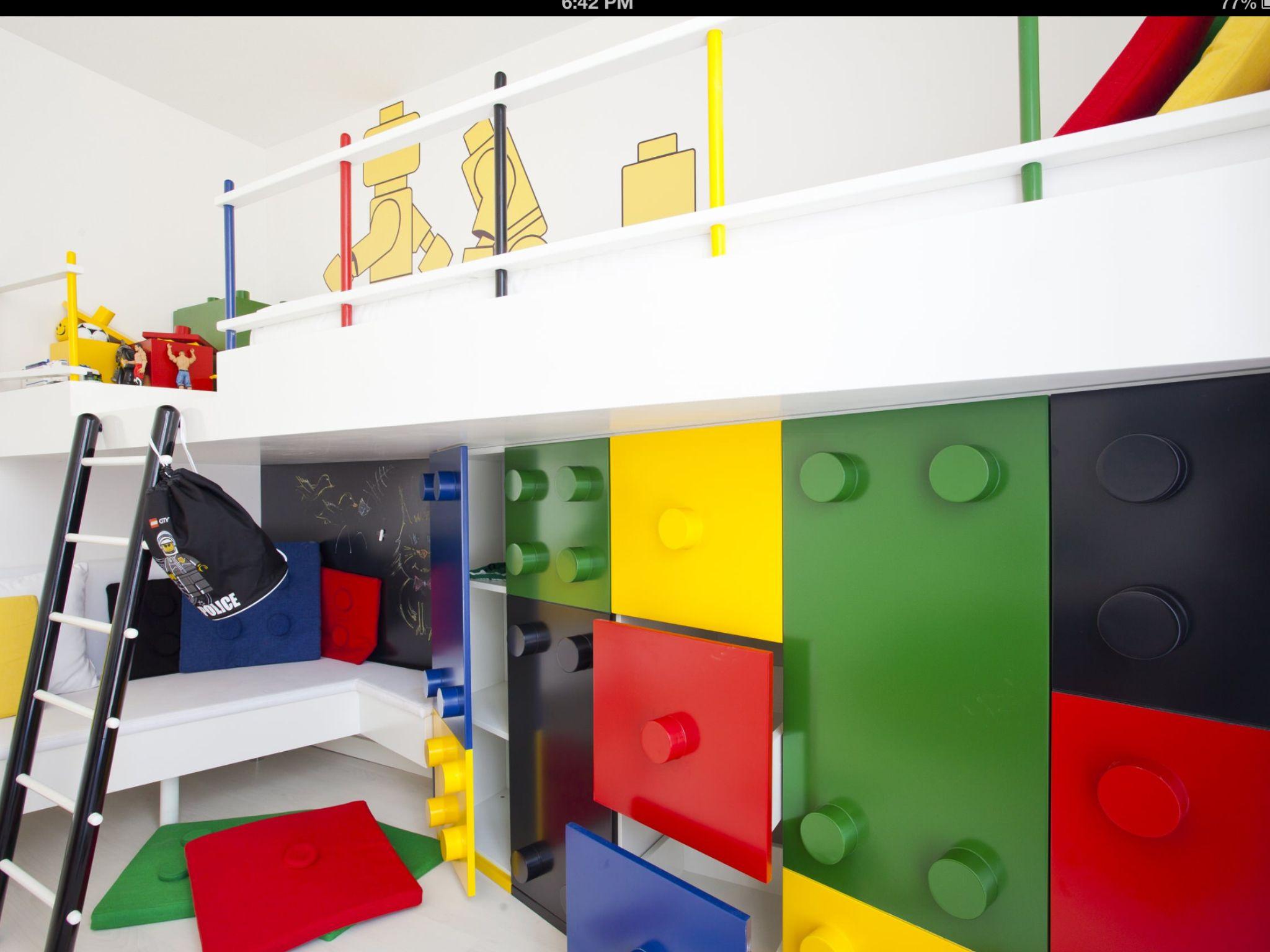 Lego Childu0027s Bedroom.