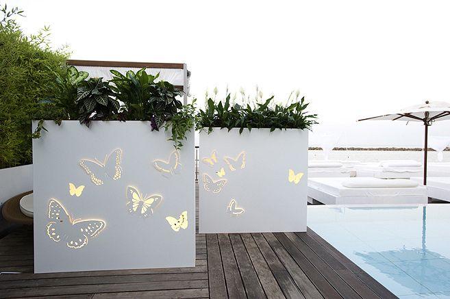 Separ giardino cerca con google terrazzo pinterest for Divisori da giardino in plastica