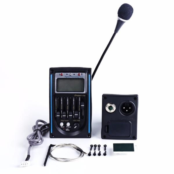 Acoustic Guitar Equalizer Pre Amp Pickups System Regular Price 34 90 Usd Guitar Tuners Tuner New Tone
