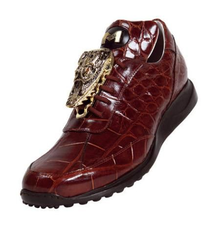 mauri alligator sneakers
