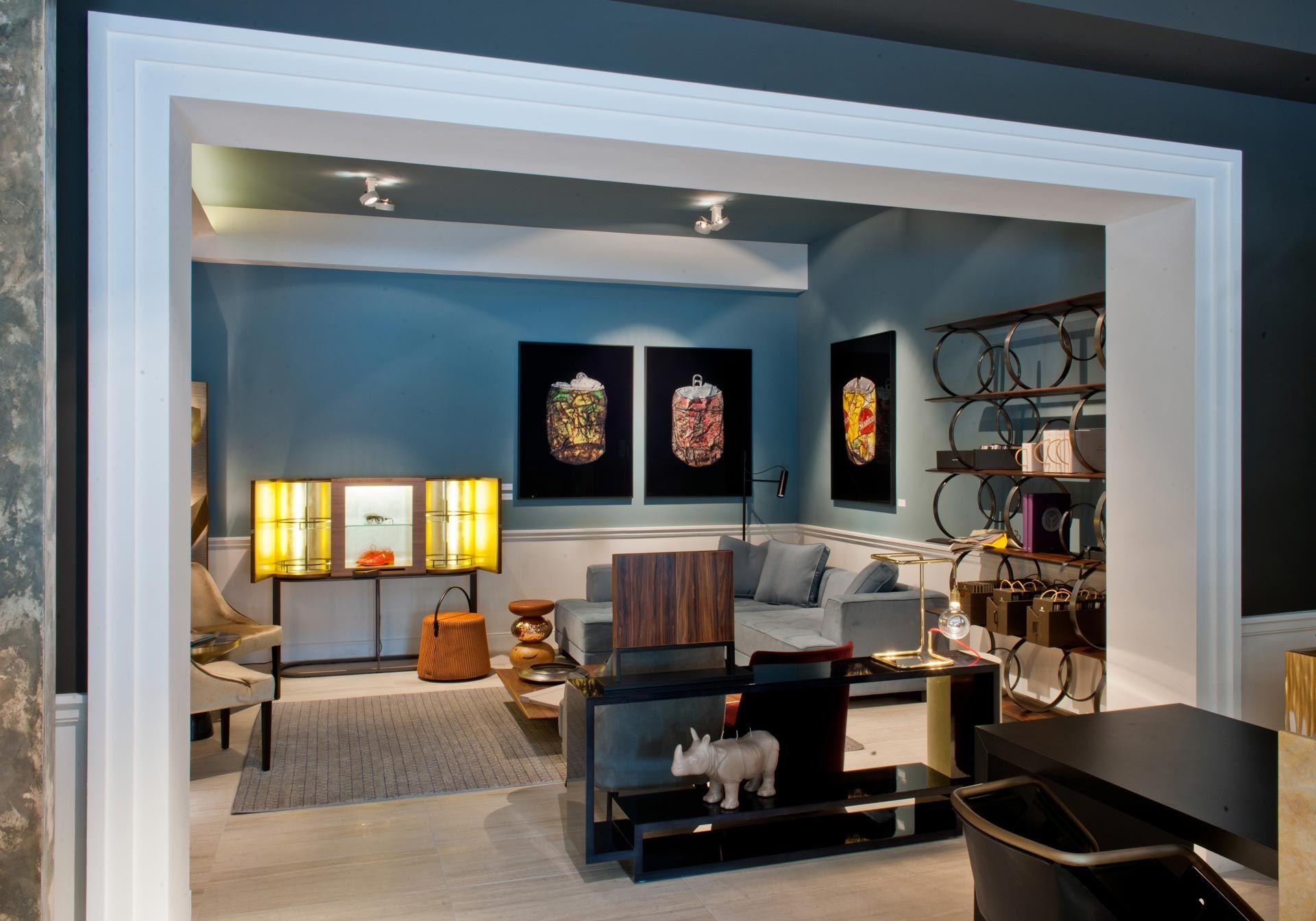 Amüsant Einrichtungsideen Wohnzimmer Galerie Von K&h Interior Showroom   Wunderschöne Ideen Und