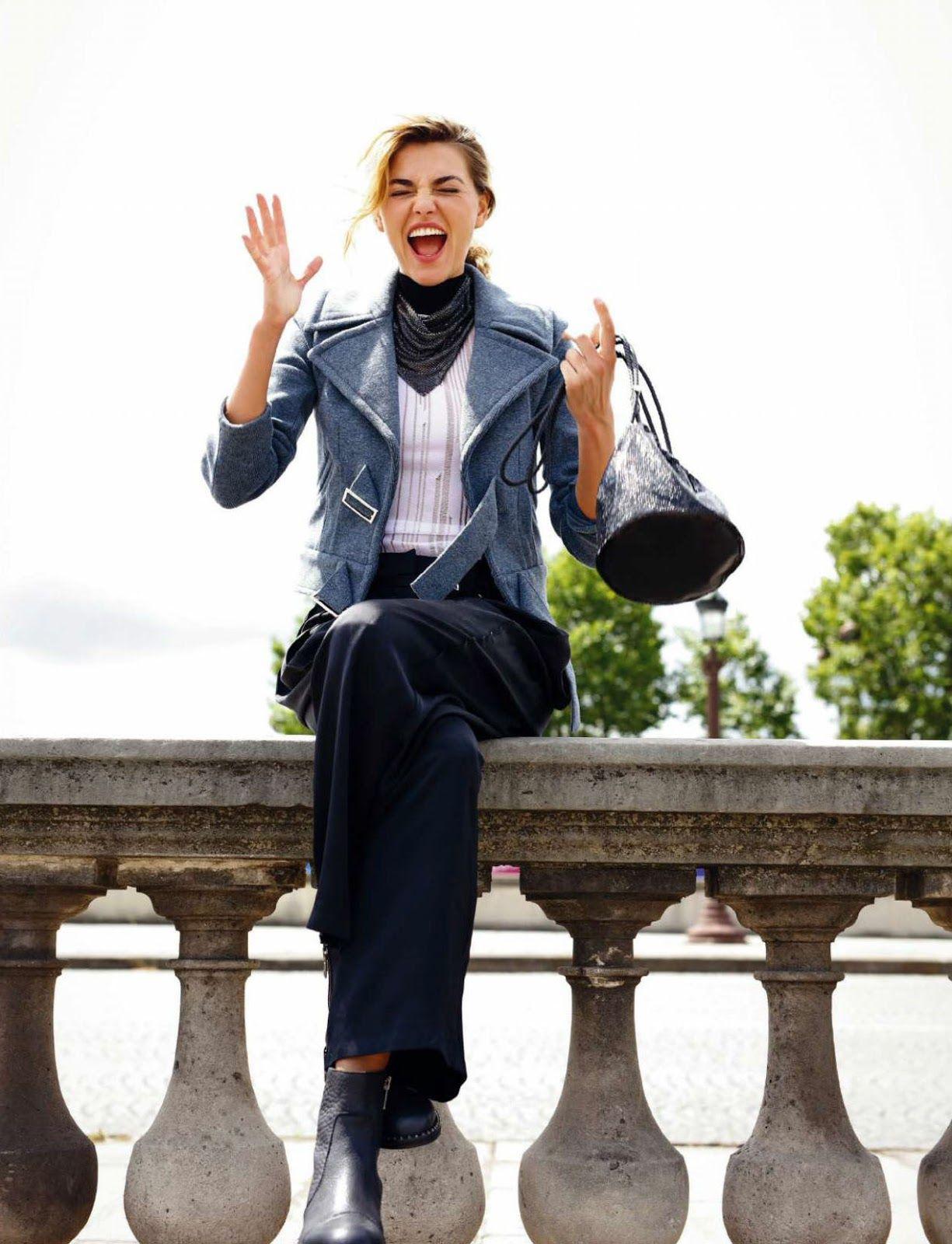 Alina Baikova by Riccardo Tinelli for Elle Spain September 2016