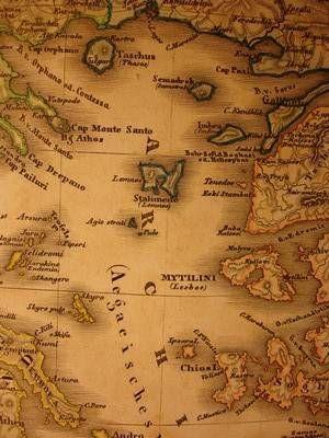 Lemnos Greece Map.Maps Of Greece And The Greek Islands Sim Pinterest Greece