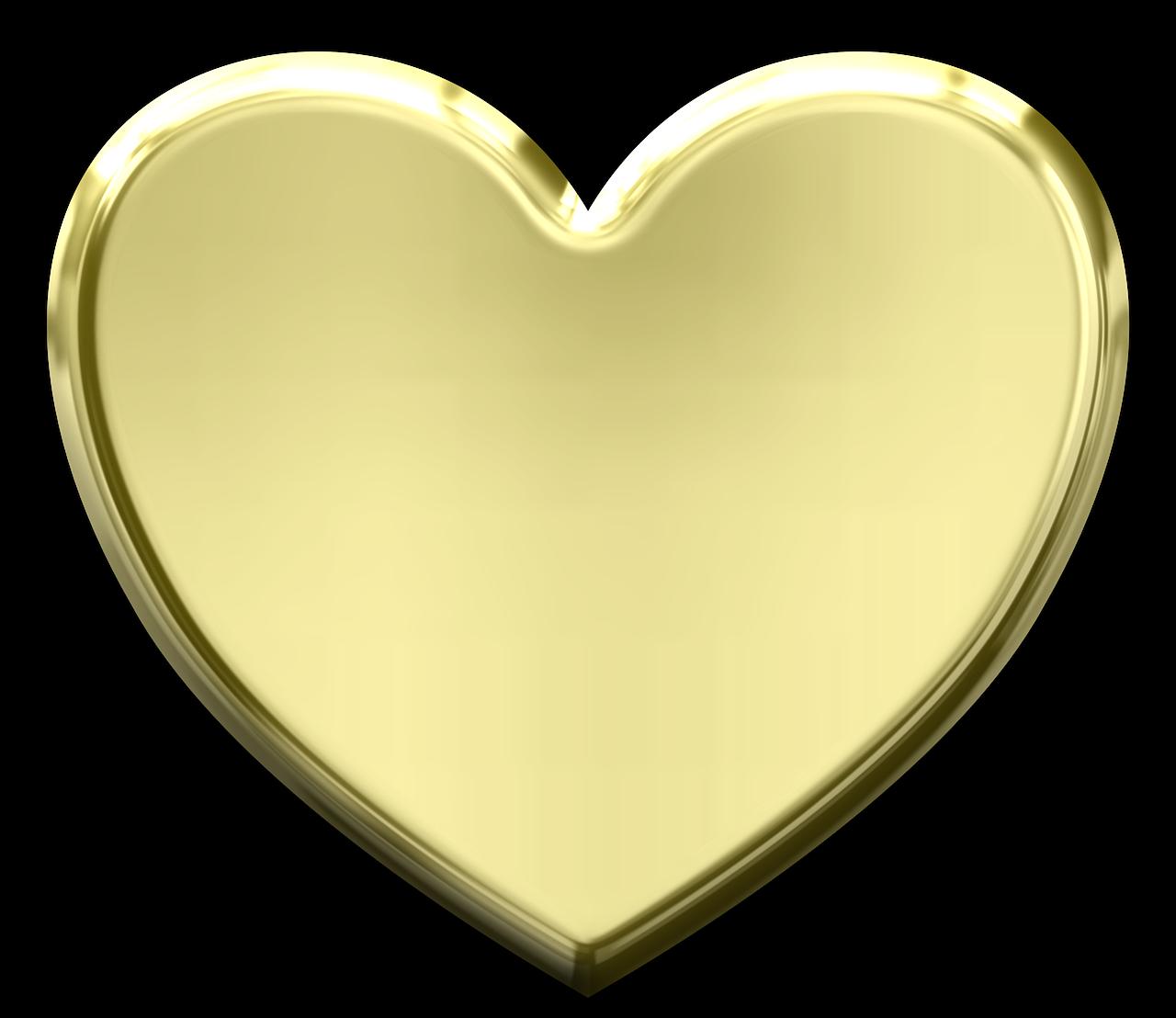 Serce Metaliczny Valentine Milosc Metalowe Zlota Alphabet Images Golden Heart Heart Shapes
