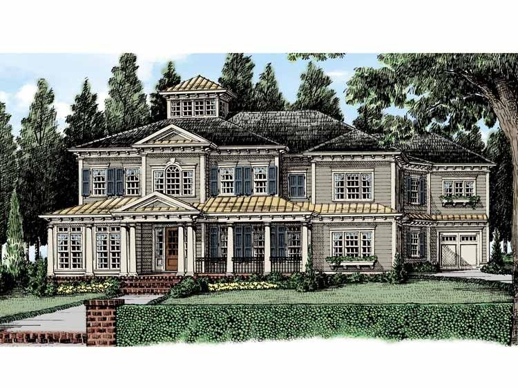 Genial Georgian House Plan With 5584 Square Feet And 5 Bedrooms From Dream Home  Source | House