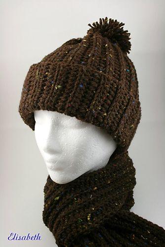 Ravelry: Crochet Winter Set: Hat pattern by Michele Maks ...