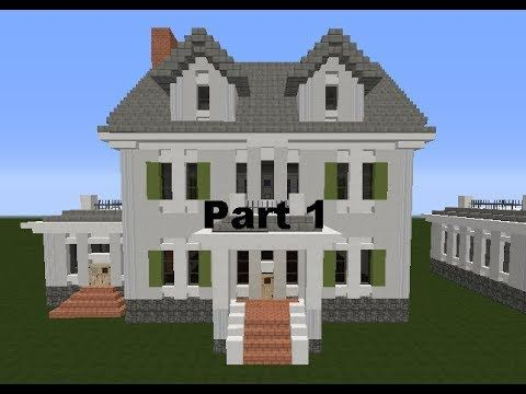 youtube | minecraft house ideas | pinterest | youtube, colonial and