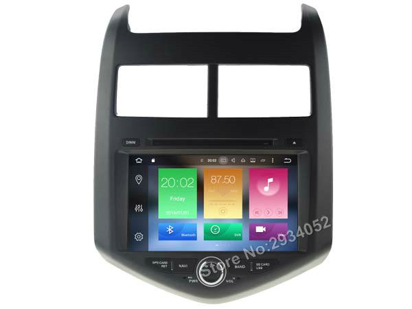 For Chevrolet Aveo Sonic Android 6 0 Car Dvd Player Octa Core