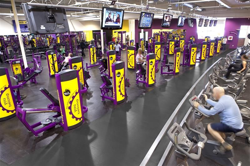 Equipment At Planet Fitness