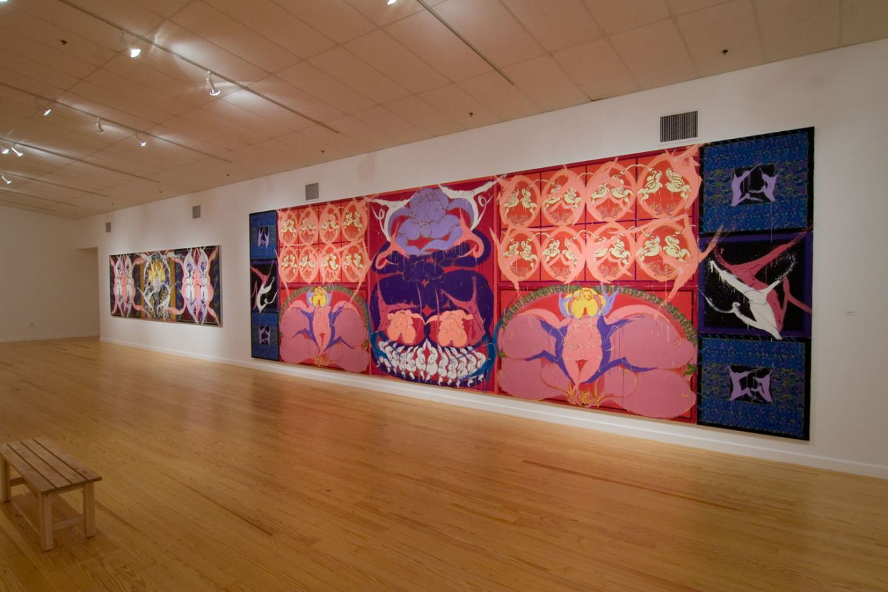 Curated Art Museum Of Contemporary Art American Art Artist Painting