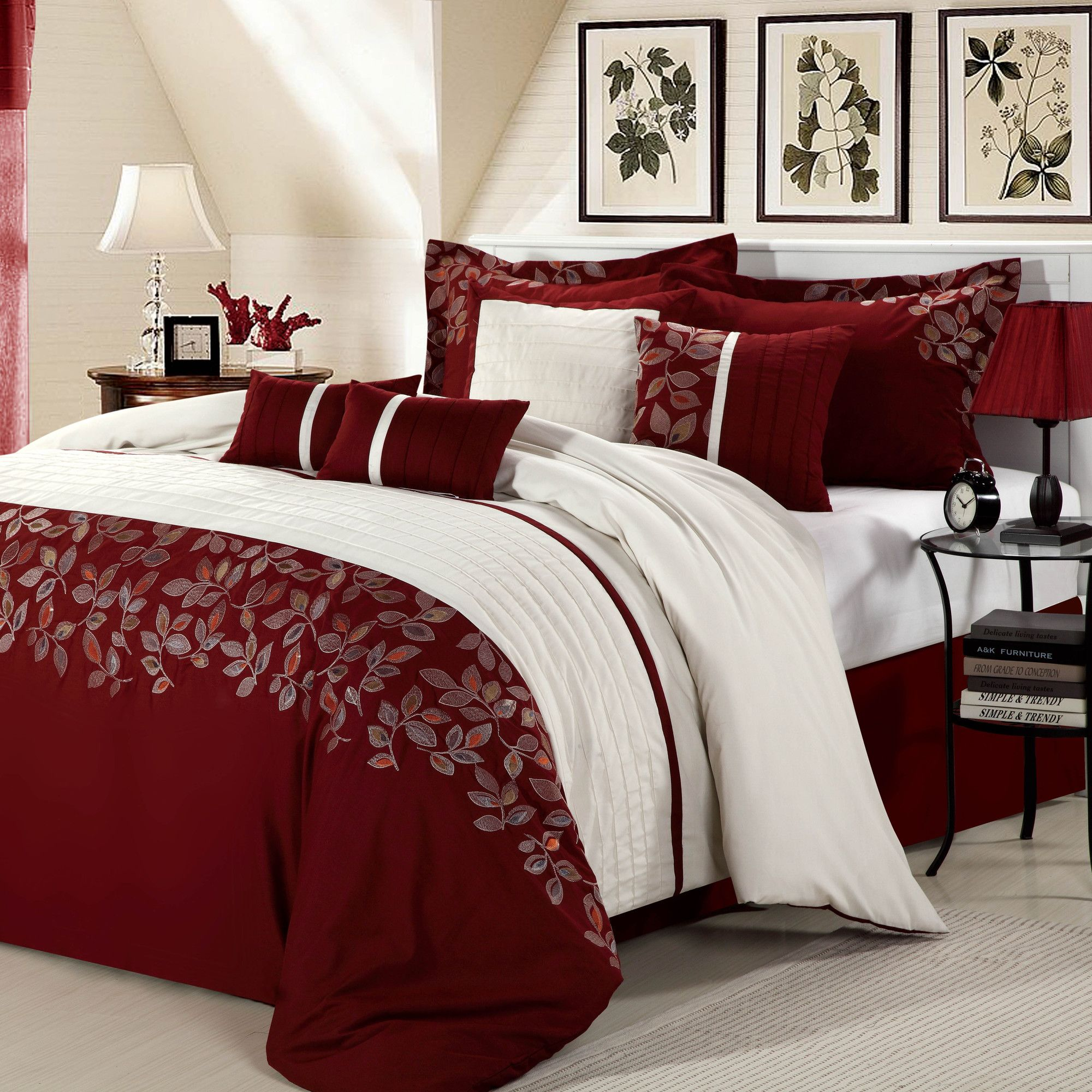 Chic Home Montana 8 Piece Comforter Set U0026 Reviews | Wayfair